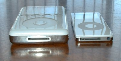 Third-generation iPod and iPod Nano (dock view)