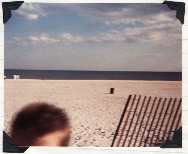 The beach at Fire Island, 19 May 1990